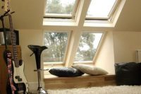 26 modern cozy nook by the window
