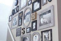 27 mismatched vintage frames