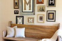 27 vintage-inspired wooden bench