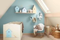 28 pastel attic boy's room