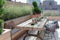 28 tiny urban rooftop garden with planters