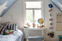 30 shabby chic boys' attic room