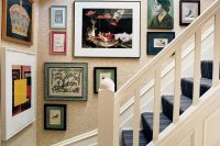 30 vintage and shabby chic frames with artwork