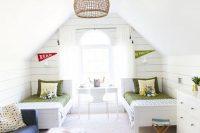 31 shared attic kids' room for boys