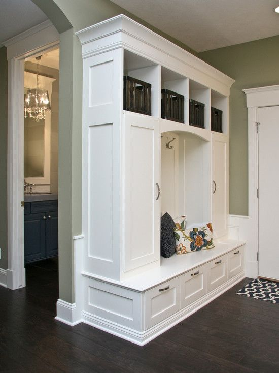 Small Mudroom Locker