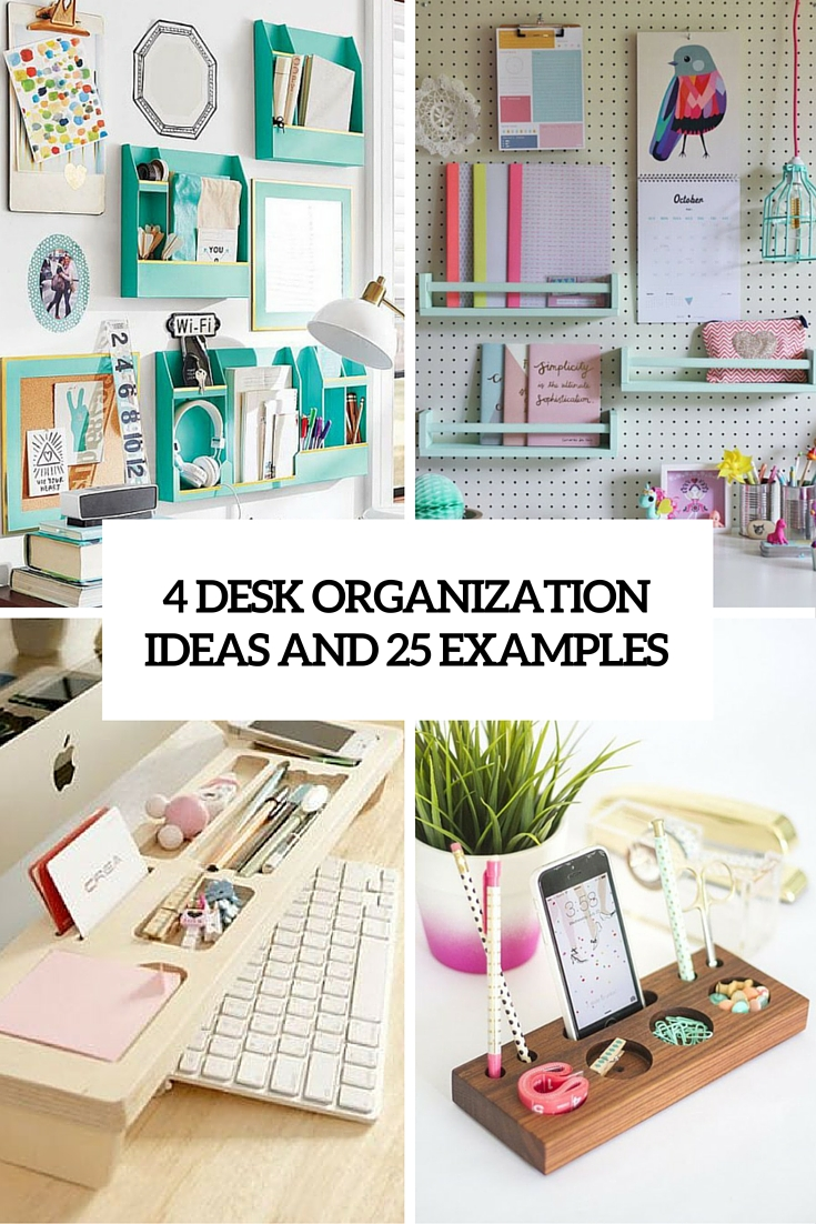 Diy desk organizers archives shelterness - Desk organization ideas ...