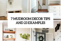 7 small mudroom decor tips and 23 examples