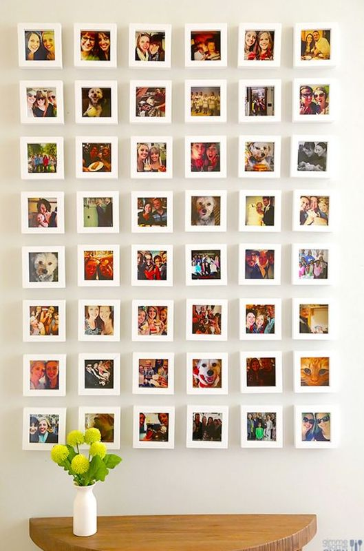 23 Instagram Gallery Wall Ideas For Trendy Décor - Shelterness