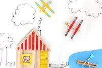 DIY popsicle stick toys