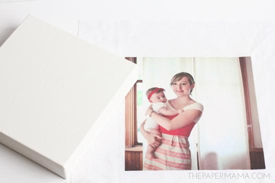 DIY photo canvas two ways (via bhg)