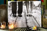 DIY photo vintage canvas