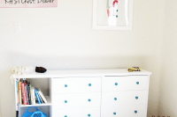 DIY double white IKEA Rast