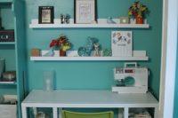 DIY IKEA Ribba accessories and photos display