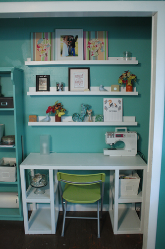 DIY IKEA Ribba accessories and photos display (via ana-white)