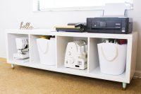 DIY IKEA Kallax storage unit