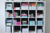 DIY Kallax bookshelf or bookcase