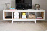DIY Kallax TV stand