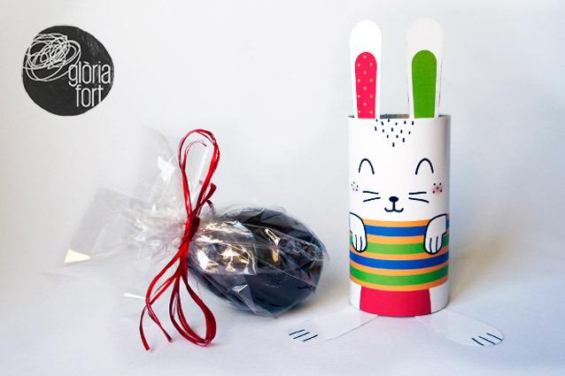 DIY toilet paper roll bunny (via https:)