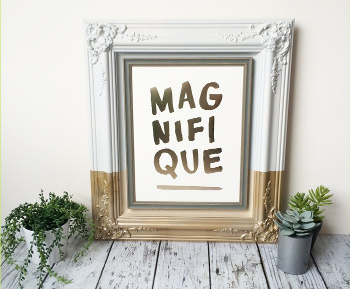 10 DIY Vintage Frames For A Refined Touch To Your Photos And Stuff ...