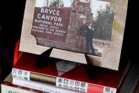 DIY faux bois paper frame