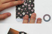 DIY scrap paper easy frame