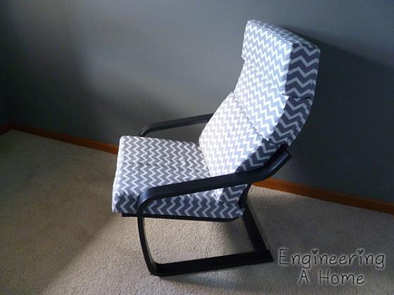 DIY Poang chair cushions (via https:)