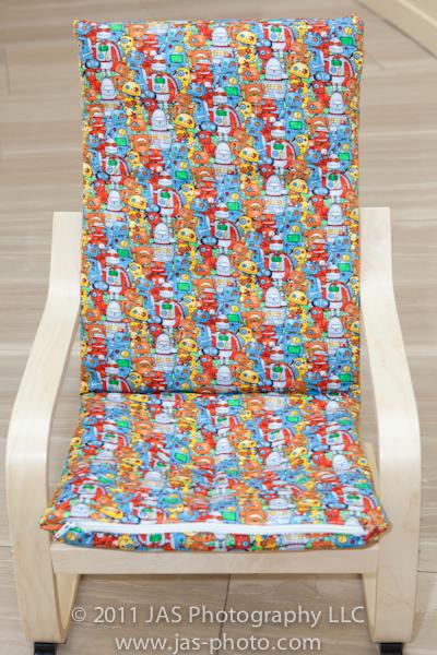 DIY kids Poang chair slipcover (via https:)