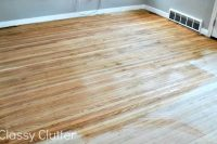 How to refinish wood floors for cheap