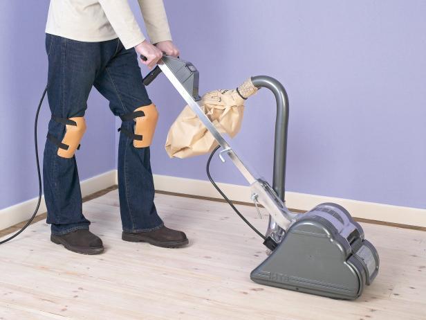 How to sand hardwood floors (via diynetwork)