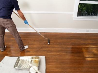 DIY hardwood floor refinish (via bobvila)