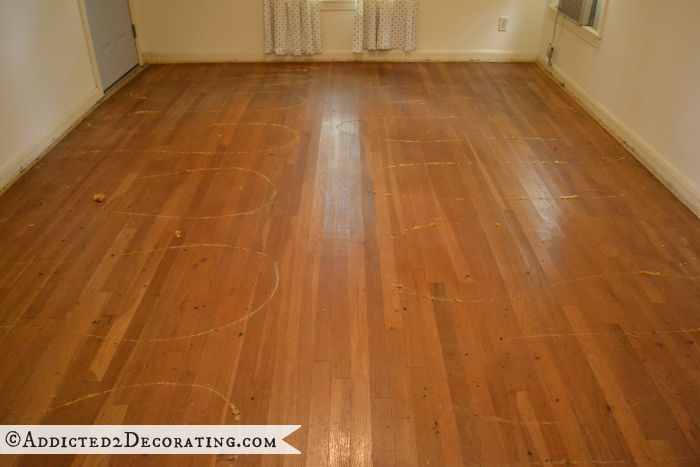 Picture of diy refinished hardwood floors for Resurfacing wood floors