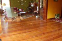 DIY wood floor refinishing