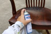 How to refinish old wood chairs