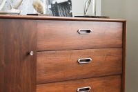 How to refinish an old cabinet