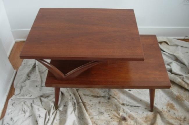 How to refinish a wood table (via bobvila)