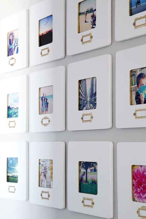 wide white frames for Instagram pics