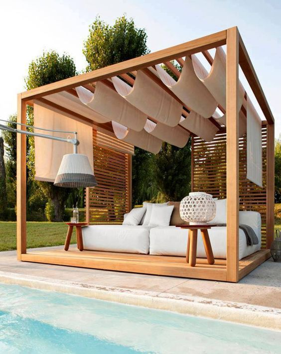 How To Decorate A Pool Gazebo: 23 Ideas - Shelterness