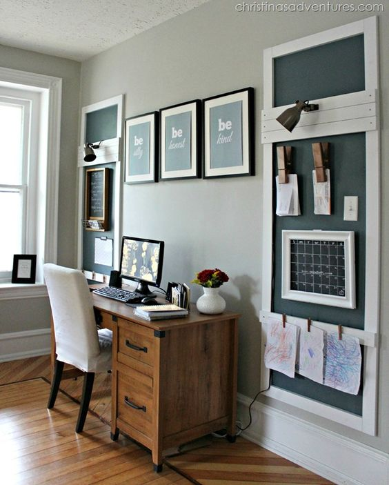 Creative Home Office Ideas: 29 Creative Home Office Wall Storage Ideas