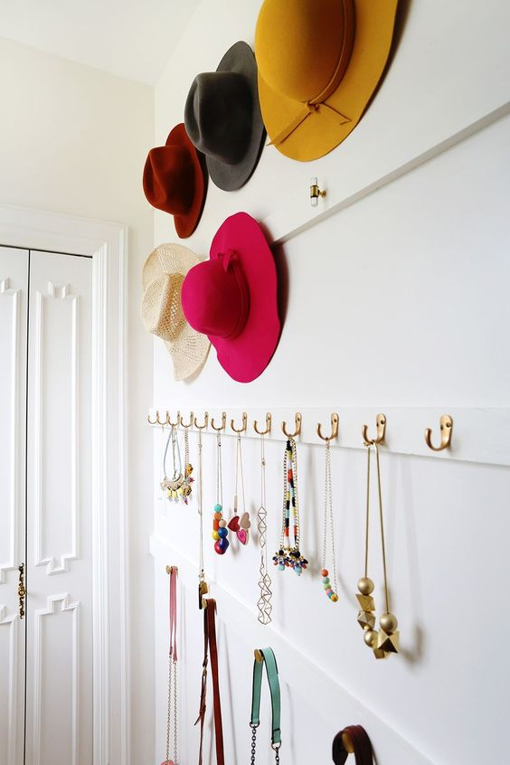 wall hooks and holders for accessories