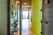 06 neon metal and glass front doors