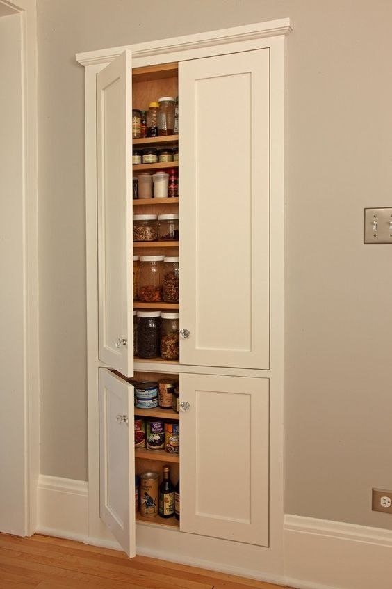 Picture of built in kitchen wall cabinet for Built in kitchen cupboards for a small kitchen