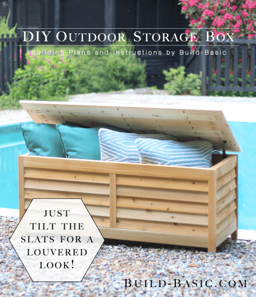 Building Patio Bench With Storage: 10 Smart DIY Outdoor Storage Benches