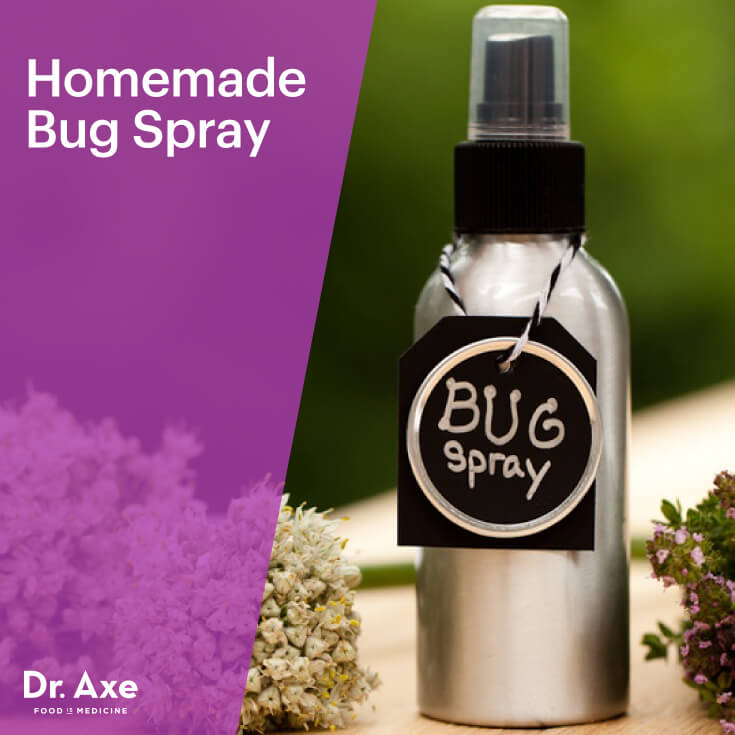 DIY bug spray that nourishes skin