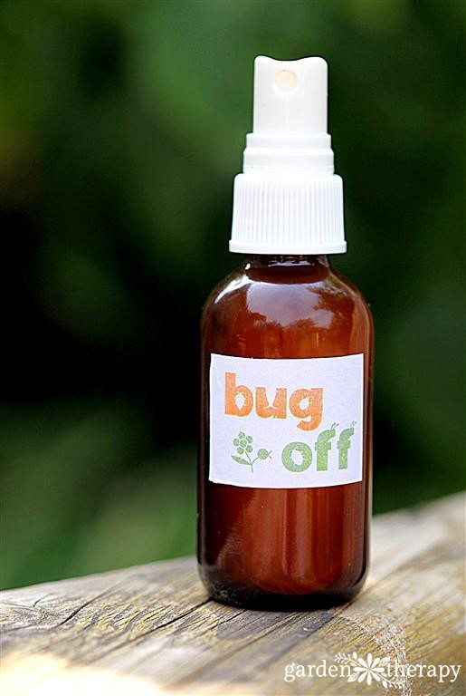 DIY refreshing oils bug spray