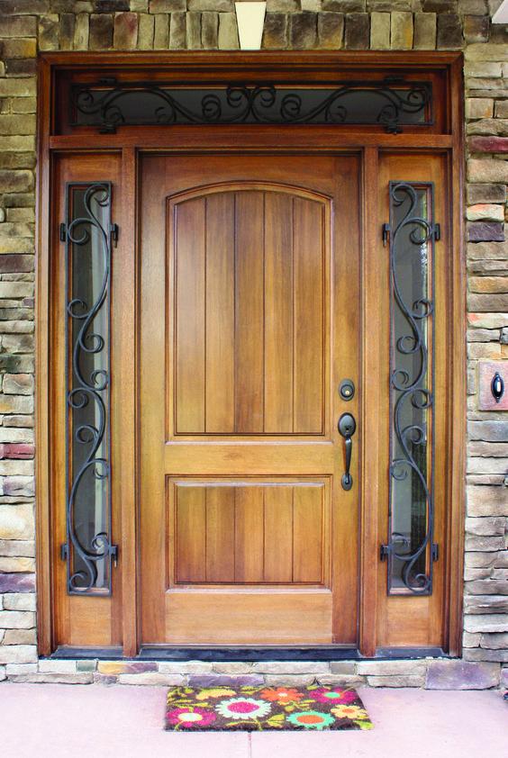 Front Door Design: 27 Cool Front Door Designs With Sidelights