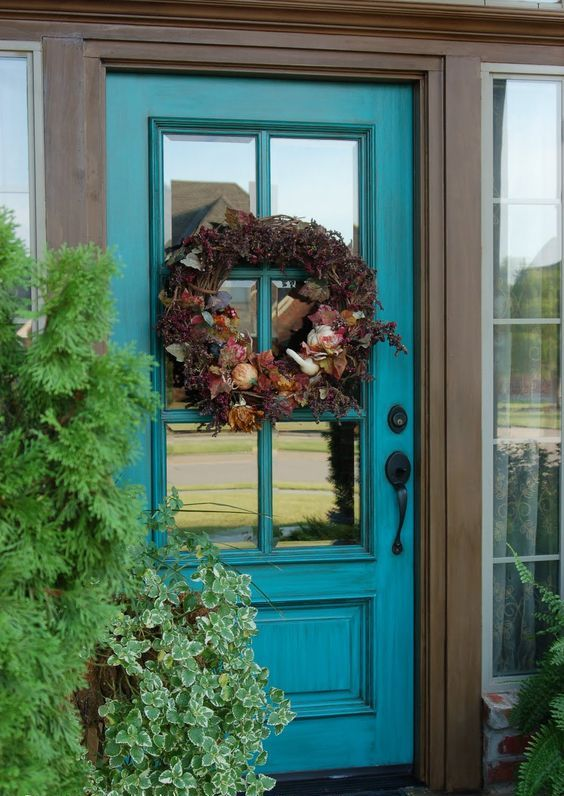 ... Glass Front Door Privacy Ideas
