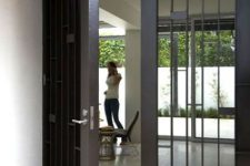12 glam metal and mirrored glass front doors
