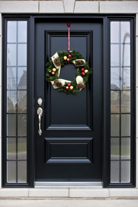 How To Paint Front Door With Sidelights