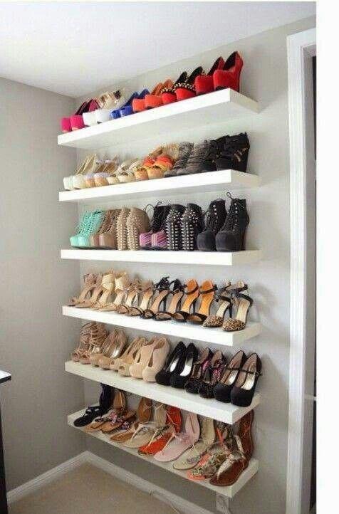 closet wall storage