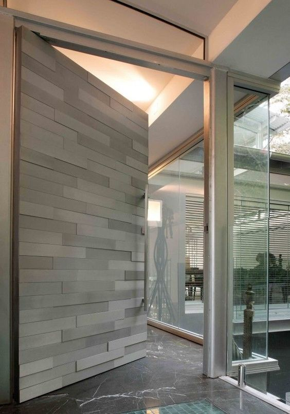 20 Best Modern Door Designs From Wood: 26 Modern Front Door Designs For A Stylish Entry